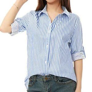 🎀2/34🎀 Striped Blouse